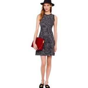 Tweed Fit and Flare J.Crew Dress